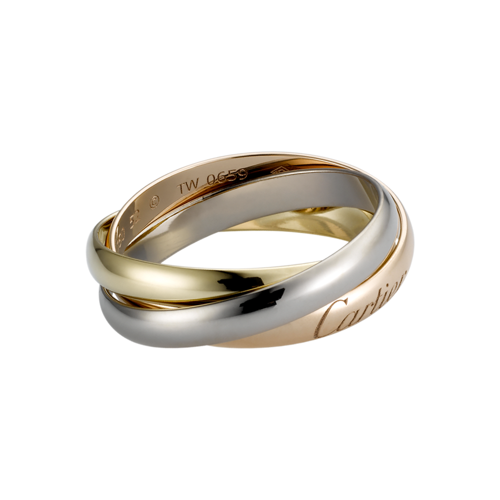 Trinity Ring Cartier 3-Gold B4086100